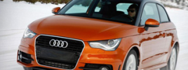 Первый полноприводный прототип Audi A1 quattro