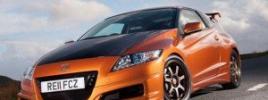 «Заряженная» версия гибридного купе CR-Z Mugen