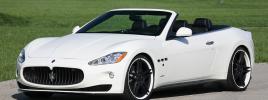 Мастера «Novitec Tridente» поработали над Maserati GranCabrio