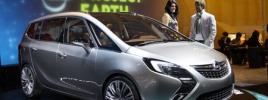 Новое поколение минивена Opel Zafira Tourer