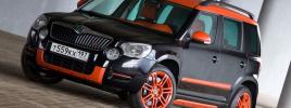 Тюнинг кроссовера Skoda Yeti чешским ателье «Benet Automotive»