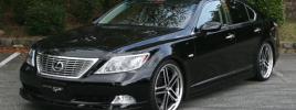 Седан бизнес-класса Lexus LS460