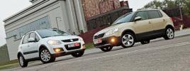 Сравнение Skoda Fabia Scout и Suzuki SX4
