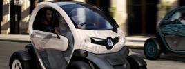 Одноместный электромобиль Renault Twizy