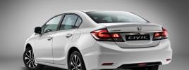 Седан Honda Civic обновился и стал дороже