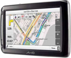 GPS-навигатор Mio Moov S650