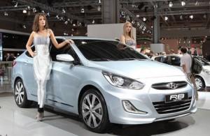 Новый хэтчбек Hyundai Solaris  (старт продаж: 2011 год)