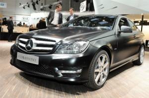 Новый Mercedes-Benz C-Class Coupe (старт продаж: 2011 год )