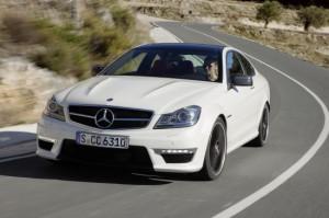 Тест-драйв Mercedes C63 AMG Coupe