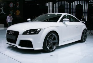 Второе поколение спорткара Audi TT