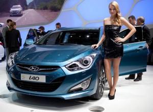Презентация Hyundai i40 в Женеве