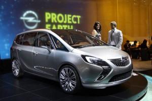 Дебют минивена Opel Zafira Tourer