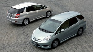 Новый универсал Honda Fit Shuttle