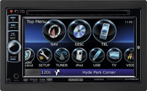 Новый DVD-ресивер Kenwood DNX5580BT