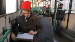 автобус с выходом в интернет