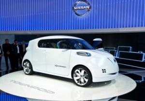 Nissan Townpod на авто выставке