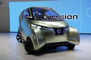 Премьеры от Nissan Pivo 3 на выставке в Токио