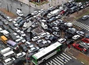 пробки на дороге и методы борьбы с ними