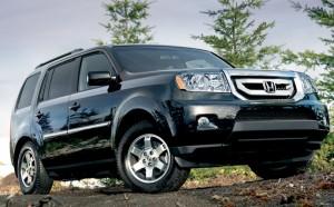 Honda отзывает около 10000 внедорожников (Honda Pilot и Acura MDX)
